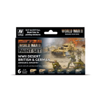 Model Color set: WWII...
