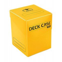 Deck Case 100 Cartas Amarillo
