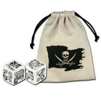 Pirate Dice & Bag