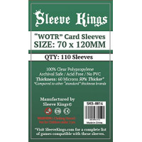 Sleeve Kings WOTR 70X120mm...