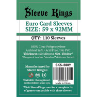 Sleeve Kings Euro 59x92mm...