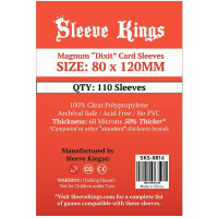 Sleeve Kings 80x120mm Pack...