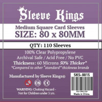 Sleeve Kings 80x80mm Pack...